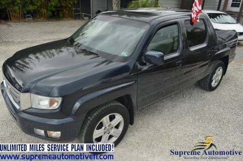 2011 Honda Ridgeline for sale at Supreme Automotive in Land O Lakes FL