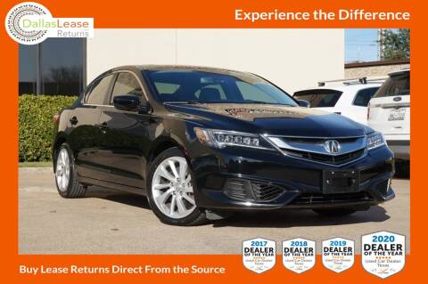 2016 Acura ILX for sale at Dallas Auto Finance in Dallas TX
