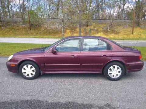 2003 Hyundai Sonata for sale at Laurel Wholesale Motors in Laurel MD