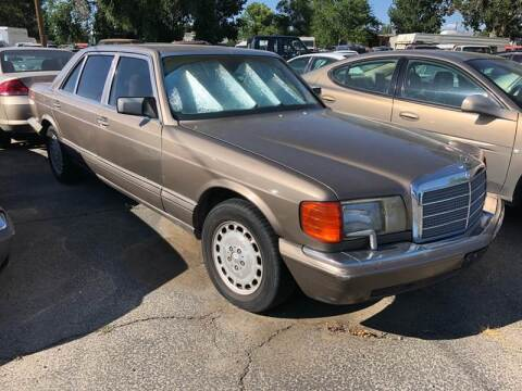 1988 Mercedes-Benz 420-Class for sale at AFFORDABLY PRICED CARS LLC in Mountain Home ID