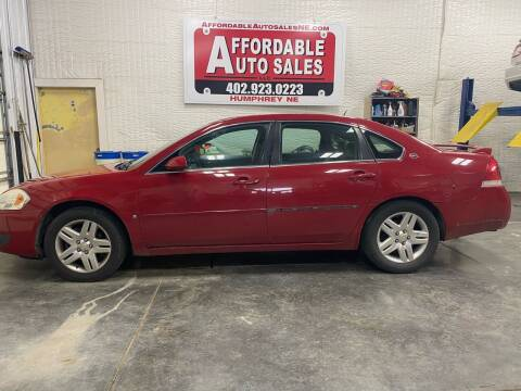 2007 Chevrolet Impala for sale at Affordable Auto Sales in Humphrey NE