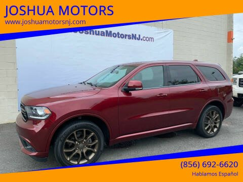 2017 Dodge Durango for sale at JOSHUA MOTORS in Vineland NJ