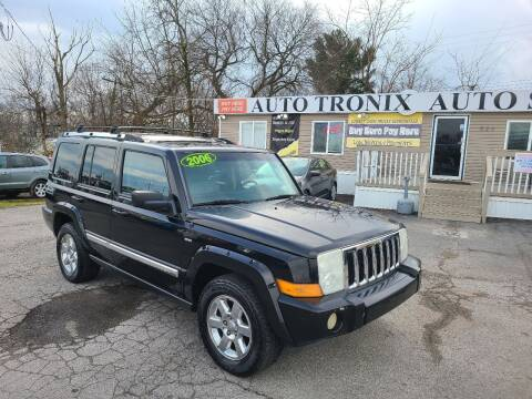 2006 Jeep Commander for sale at Auto Tronix in Lexington KY