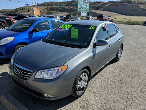 2010 Hyundai Elantra for sale at Hilltop Motors in Globe AZ