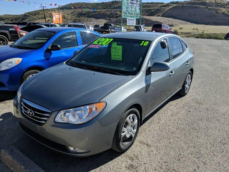 2010 Hyundai Elantra for sale at Hilltop Motors in Globe AZ