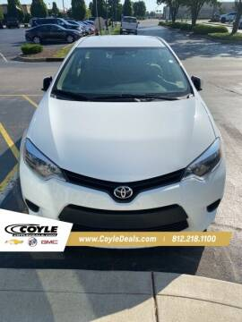 2014 Toyota Corolla for sale at COYLE GM - COYLE NISSAN - New Inventory in Clarksville IN