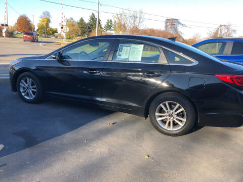 2016 Hyundai Sonata for sale at GASPORT AUTO SALES AND SERVICE,INC in Gasport NY