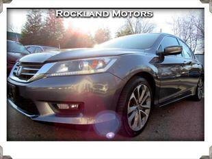 2014 Honda Accord for sale at Rockland Automall - Rockland Motors in West Nyack NY