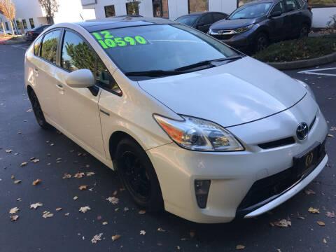 2012 Toyota Prius for sale at Bayview Motor Club, LLC in Seatac WA