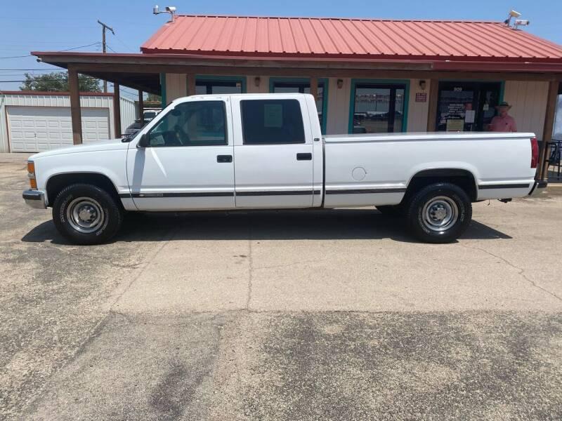2000 Chevrolet Silverado 3500HD for sale at Gabes Auto Sales in Odessa TX