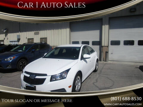 2014 Chevrolet Cruze for sale at Car 1 Auto Sales in Murray UT