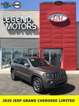 2020 Jeep Grand Cherokee for sale at Legend Motors of Ferndale in Ferndale MI