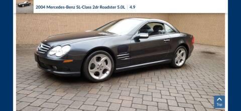 2004 Mercedes-Benz SL-Class for sale at Abrams Automotive Inc in Cincinnati OH