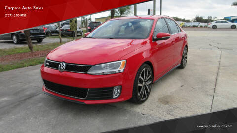 2012 Volkswagen Jetta for sale at Carpros Auto Sales in Largo FL