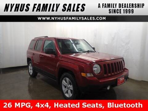 2016 Jeep Patriot for sale at Nyhus Family Sales in Perham MN