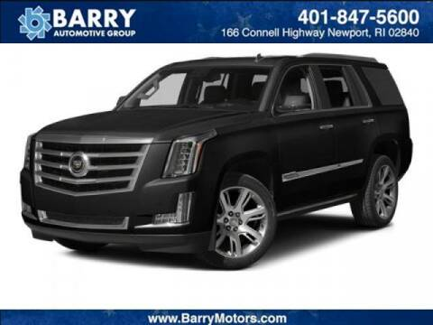 2015 Cadillac Escalade for sale at BARRYS Auto Group Inc in Newport RI