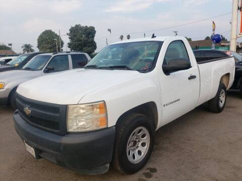 2007 Chevrolet Silverado 1500 for sale at LR AUTO INC in Santa Ana CA