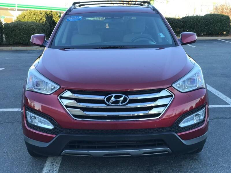 2014 Hyundai Santa Fe Sport for sale at RUSH AUTO SALES in Burlington NC
