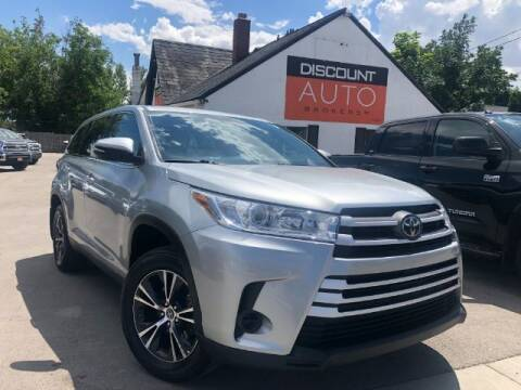 2019 Toyota Highlander for sale at Discount Auto Brokers Inc. in Lehi UT