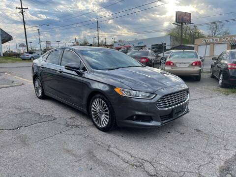 2015 Ford Fusion for sale at Green Ride Inc in Nashville TN