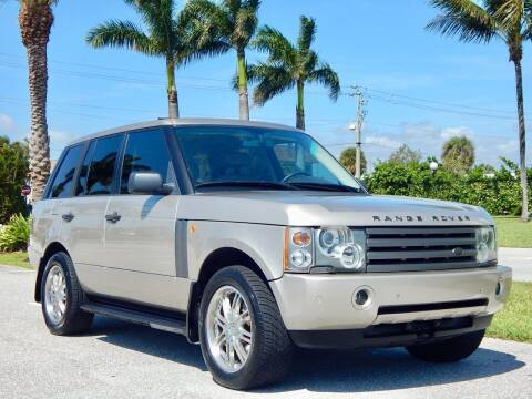 2003 Land Rover Range Rover for sale at VE Auto Gallery LLC in Lake Park FL