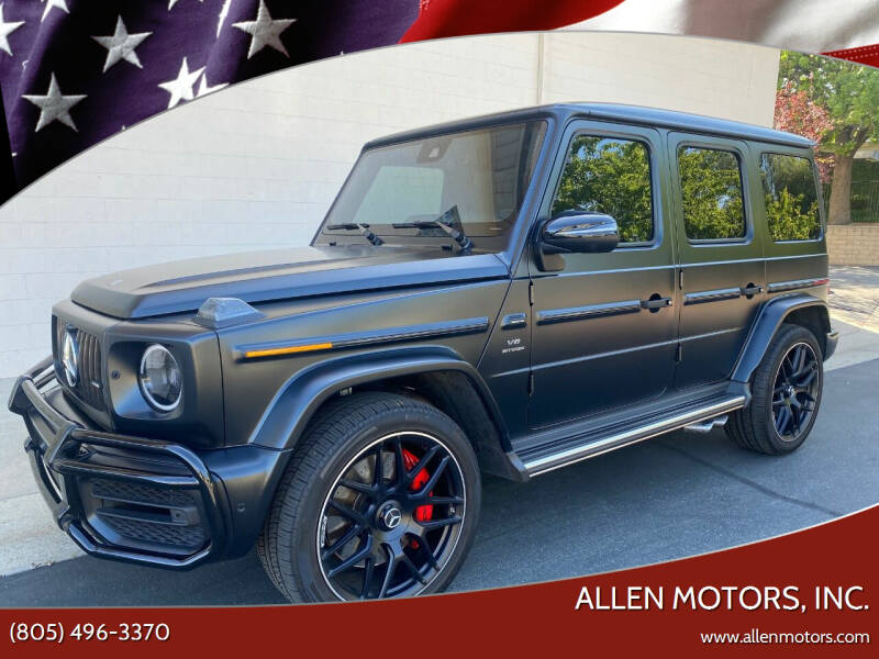 2020 Mercedes-Benz G-Class for sale at Allen Motors, Inc. in Thousand Oaks CA