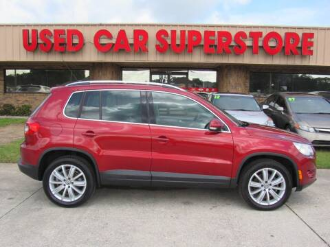 2011 Volkswagen Tiguan for sale at Checkered Flag Auto Sales NORTH in Lakeland FL