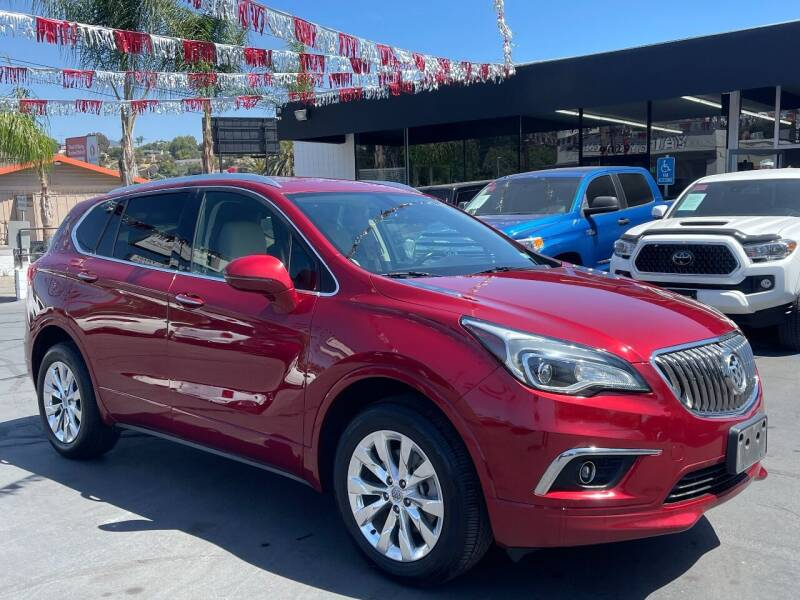 2017 Buick Envision for sale at Automaxx Of San Diego in Spring Valley CA