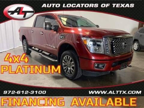 2017 Nissan Titan XD for sale at AUTO LOCATORS OF TEXAS in Plano TX