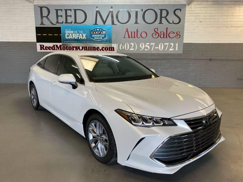 2019 Toyota Avalon for sale at REED MOTORS LLC in Phoenix AZ