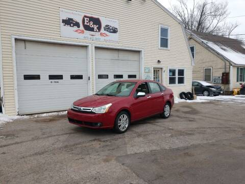 2010 Ford Focus for sale at E & K Automotive in Derry NH