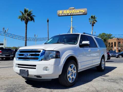2013 Ford Expedition EL for sale at A MOTORS SALES AND FINANCE in San Antonio TX
