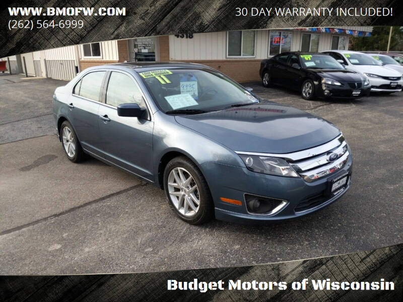 2011 Ford Fusion for sale at Budget Motors of Wisconsin in Racine WI