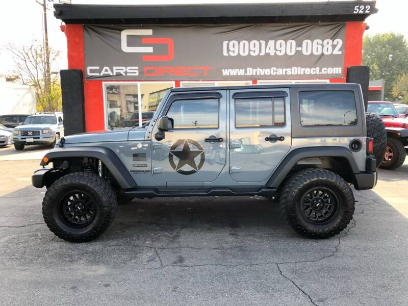 2015 Jeep Wrangler Unlimited for sale at Cars Direct in Ontario CA