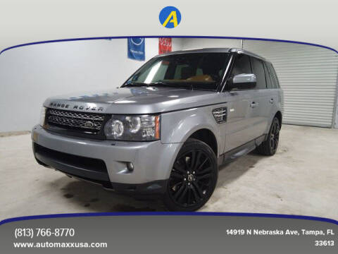 2013 Land Rover Range Rover Sport for sale at Automaxx in Tampa FL