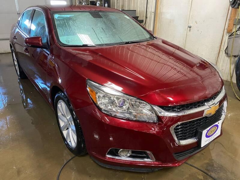 2015 Chevrolet Malibu for sale at BERG AUTO MALL & TRUCKING INC in Beresford SD