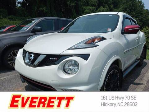 2015 Nissan JUKE for sale at Everett Chevrolet Buick GMC in Hickory NC