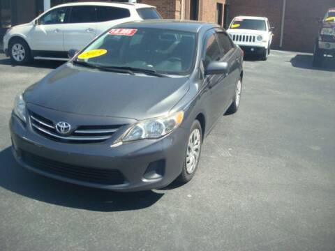 2013 Toyota Corolla for sale at Mike Lipscomb Auto Sales in Anniston AL