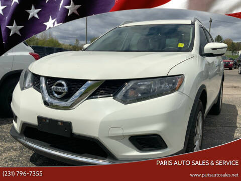 2016 Nissan Rogue for sale at Paris Auto Sales & Service in Big Rapids MI