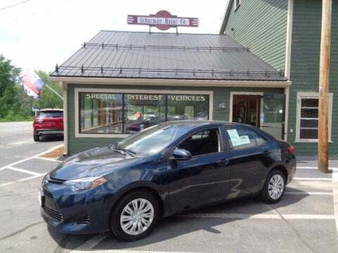 2018 Toyota Corolla for sale at SCHURMAN MOTOR COMPANY in Lancaster NH