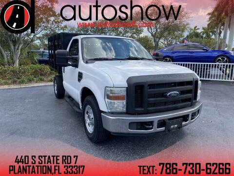 2008 Ford F-250 Super Duty for sale at AUTOSHOW SALES & SERVICE in Plantation FL