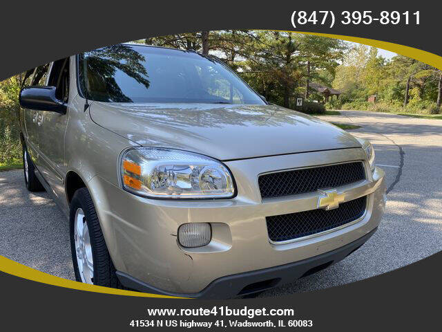 2005 Chevrolet Uplander for sale at Route 41 Budget Auto in Wadsworth IL
