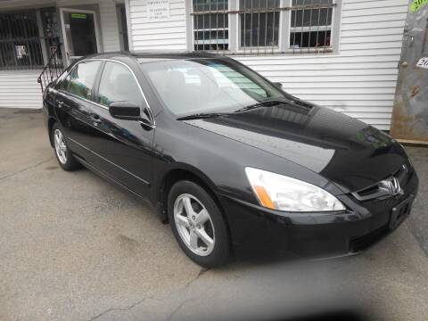 2005 Honda Accord for sale at N H AUTO WHOLESALERS in Roslindale MA