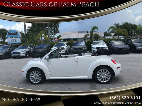 2009 Volkswagen New Beetle Convertible for sale at Classic Cars of Palm Beach in Jupiter FL