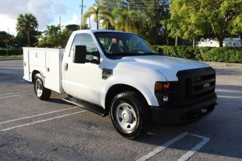 2010 Ford F-250 Super Duty for sale at Truck and Van Outlet in Miami FL