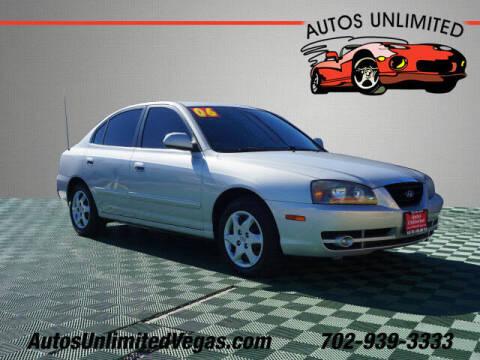 2006 Hyundai Elantra for sale at Autos Unlimited in Las Vegas NV
