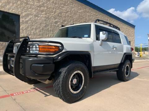2013 Toyota FJ Cruiser for sale at Dream Lane Motors in Euless TX
