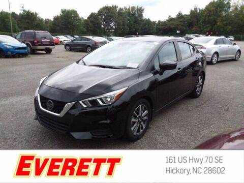 2020 Nissan Versa for sale at Everett Chevrolet Buick GMC in Hickory NC