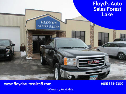 2013 GMC Sierra 1500 for sale at Floyd's Auto Sales Forest Lake in Forest Lake MN