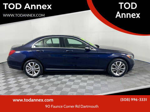 2015 Mercedes-Benz C-Class for sale at TOD Annex in North Dartmouth MA